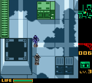 Metal gear soldi ghost babel gameboy