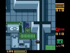metal gear solid ghost babel gameboy