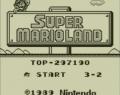Super Mario Land – Gameboy