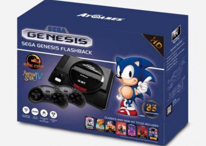 In prenotazione AtGames Sega Genesis Flashback con 85 Giochi, uscita HDMI e 85 giochi in memoria