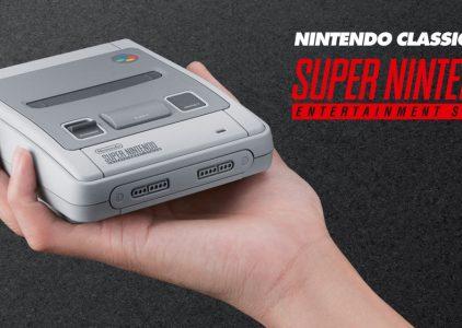 In prenotazione Nintendo SNES Classic Mini: cosa c'è da sapere