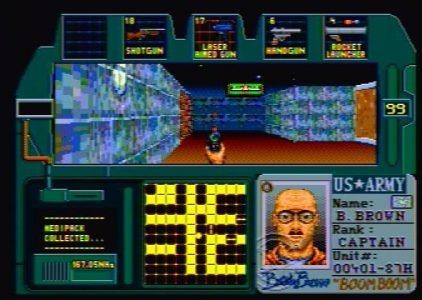Zero Tolerance – Sega Mega Drive