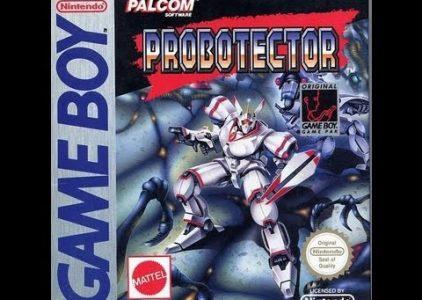Probotector – Gameboy