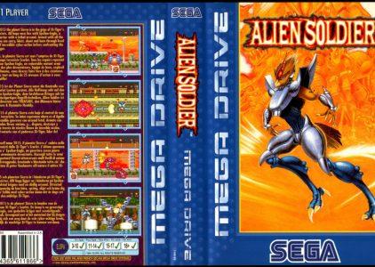 Alien Soldier – Sega Mega Drive