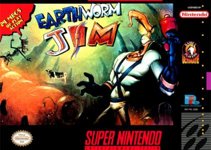 EarthWorm Jim – Super Nintendo