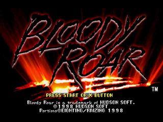 Bloody Roar – Playstation