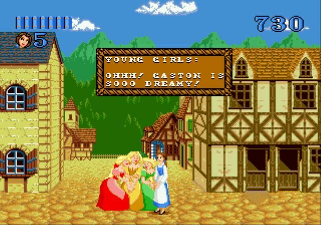 Belle s quest sega mega drive insert coin