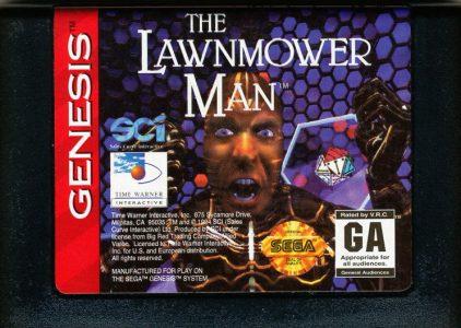 The lawnmower man – Sega Mega Drive