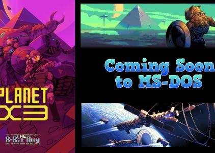 Arriva Planet X3, lo strategico del 2018 per MS DOS