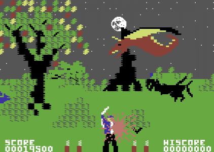 Forbidden Forest – Commodore 64