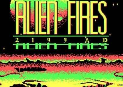 Alien Fires – MS DOS
