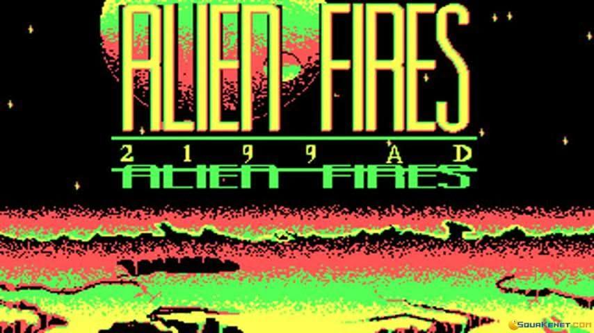 Alien Fires – MS DOS