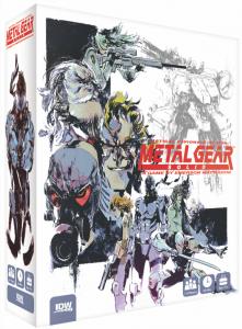 il gioco da tavolo di metal gear solid