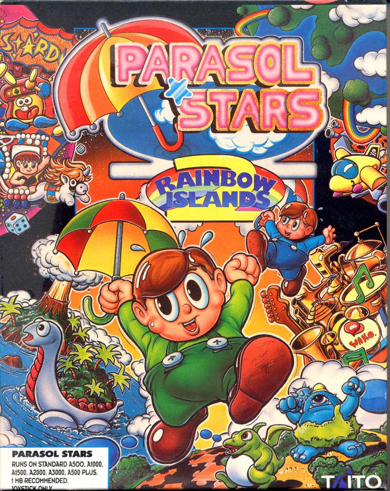 Parasol Stars – Amiga
