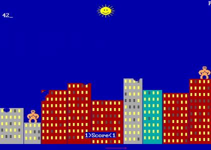 Gorillas – MS DOS