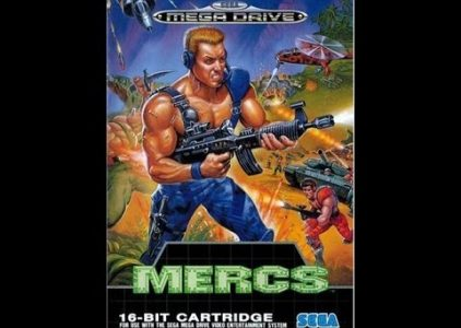 Mercs – Sega Mega Drive