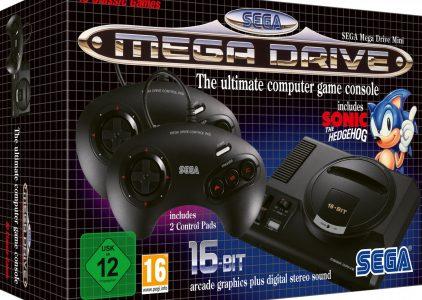 Sega Mega Drive Mini è finalmente disponibile!